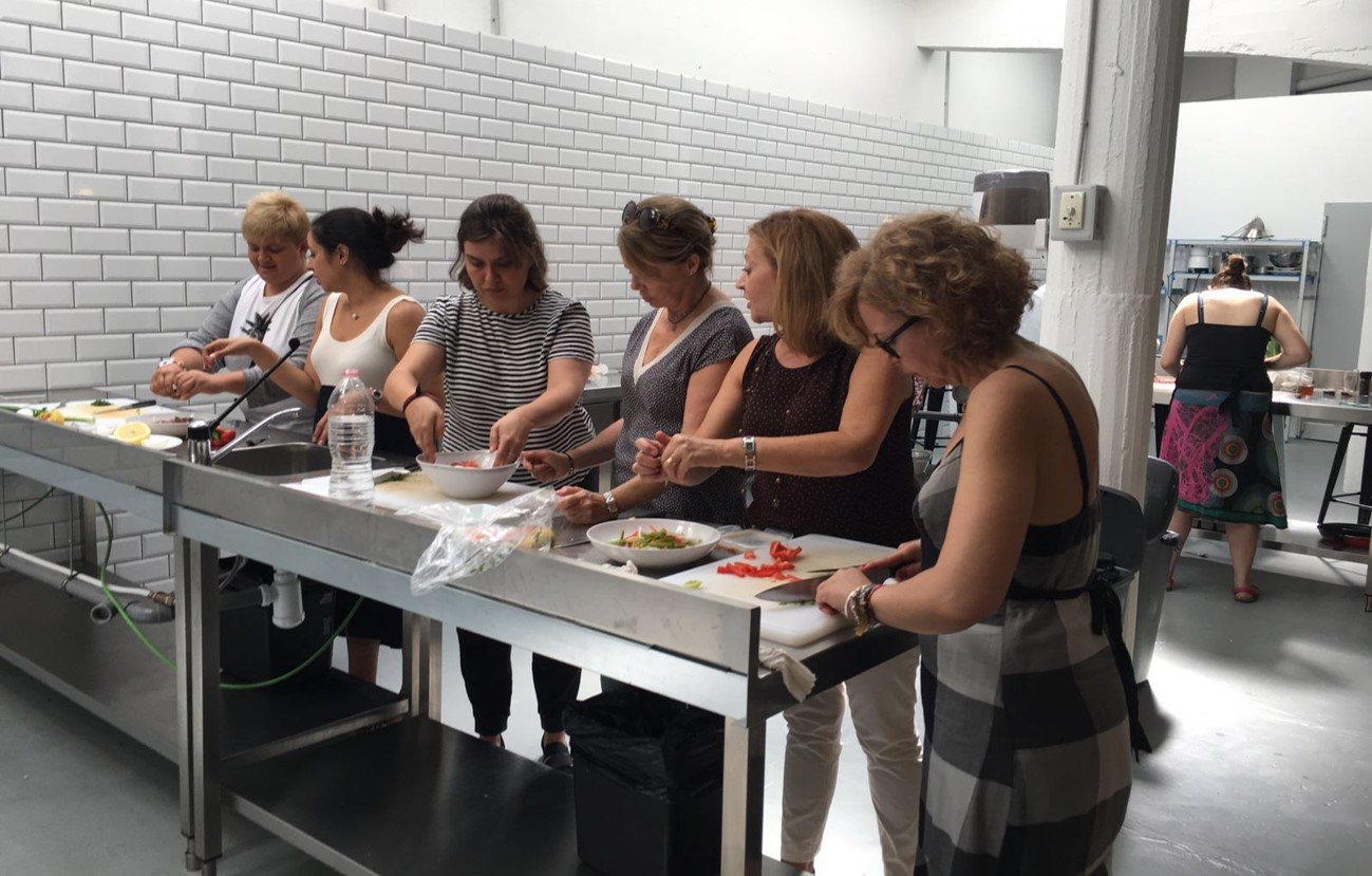 Genial cursos de cocina barcelona galer a de im genes for Clases de cocina barcelona