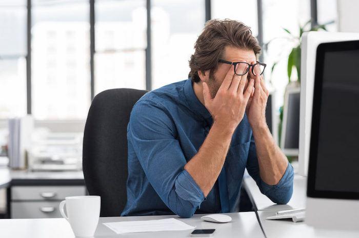 Síntomas del estrés - Cansancio crónico